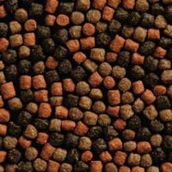 Koi mix en bolsa de plástico  (50% crecimiento, 25% spirulina, 25% Astax)